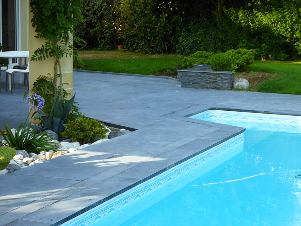 Am nagement paysager am nagement ext rieur enrob - Amenagement exterieur piscine ...